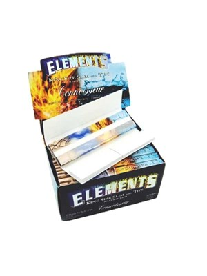 Elements King Size Slims W Boquillas