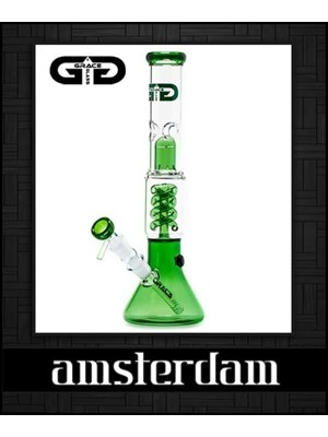 Grace Glass Amsterdam Bong
