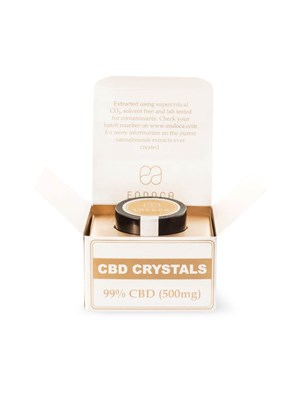 Endoca Cbd Crystals 99% - 500Mg Pure Cbd