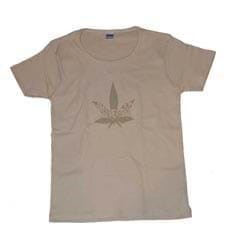 Girls T-Shirt 'Amsterdam Inside Cannabis Leaf'