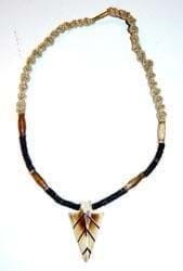 Hemp Necklace - Clasp/Bone